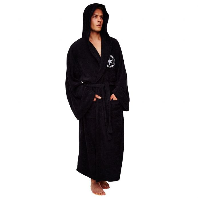 Star Wars Galactic Empire Adult Fleece Bathrobe | Buy now at The G33Kery - UK Stock - Fast Delivery